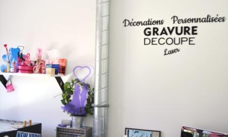Atelier de gravure laser 7M DESIGN lormont Bordeaux